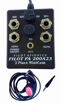 Pilot PA200-A23 Intercom-Pilot Communications-Downunder Pilot Shop