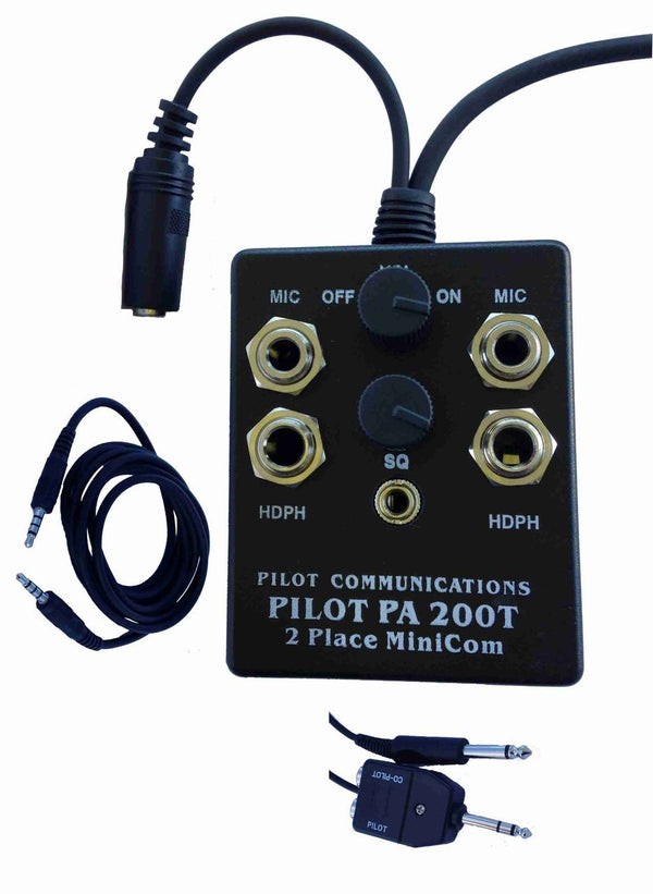 Pilot PA200-T Cell Phone Intercom System-Pilot Communications-Downunder Pilot Shop