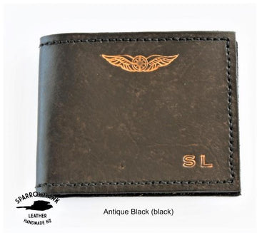 Sparrowhawk Dual Currency Pilots Wallet
