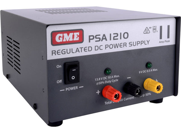 GME Regulated Power Supply (11 Amp Peak)-GME-Downunder Pilot Shop