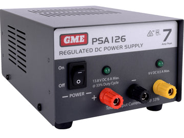 GME Regulated Power Supply (7 Amp Peak)