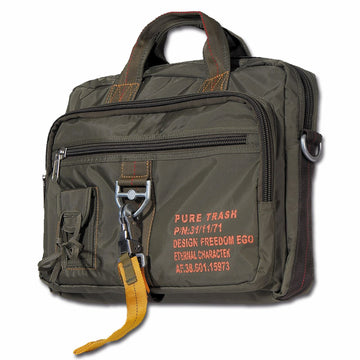 Pure Trash Military Messenger Bag