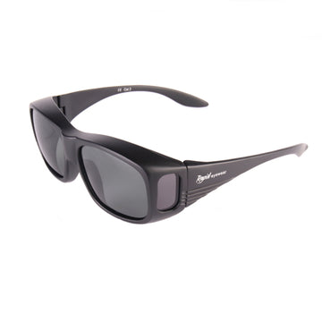 Black Polarised Overglasses