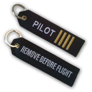 Pilot Stripes - Keyring