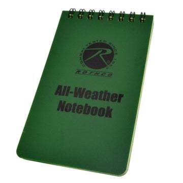Rothco All-Weather Waterproof Notebook 4 x 6