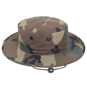 Rothco Adjustable Boonie Hat - Woodland Camo