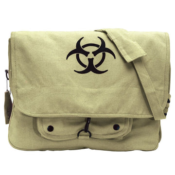 Rothco Vintage Canvas Bio-Hazard  Paratrooper Bag