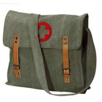 Rothco Vintage Medic Canvas Bag With Cross - Olive Drab