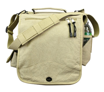 Rothco Vintage Canvas M-51 Engineers Field Bag - Khaki