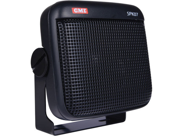 GME 8 ohm dust/water resistant extension speaker with lead & plug black-GME-Downunder Pilot Shop