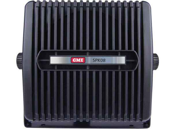 GME 8 Ohm extension speaker with lead & plug black-GME-Downunder Pilot Shop