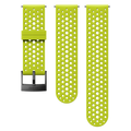 Suunto 24mm Athletic 1 Silicone Strap Lime/black S+m