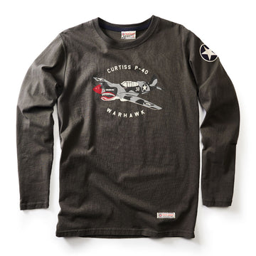 Red Canoe P40 Warhawk Long Sleeve T-Shirt