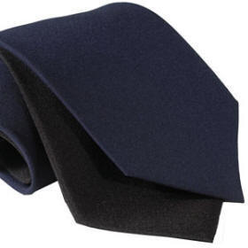Mens Tie - Clip-on - Navy
