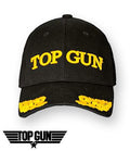 Top Gun Wings Cap - Black