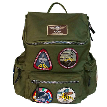 Top Gun Backpack with Patches
