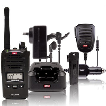 TX6160 5 Watt IP67 UHF CB Handheld Radio Kit