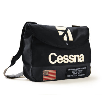 Red Canoe Cessna Shoulder Bag - Navy