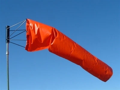 Airport Wind Sock 13 inch-Wind Socks and Frames-Downunder Pilot Shop
