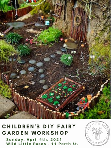 Children's Fairy Garden Workshop