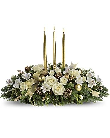 Elegant Christmas Centerpiece