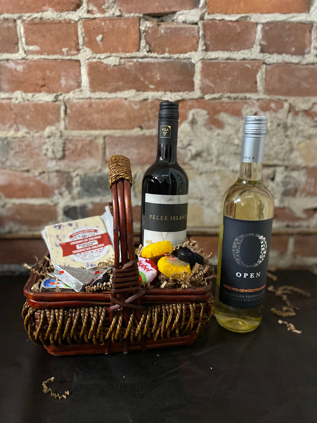 Jessie St Wine & Cheese Basket
