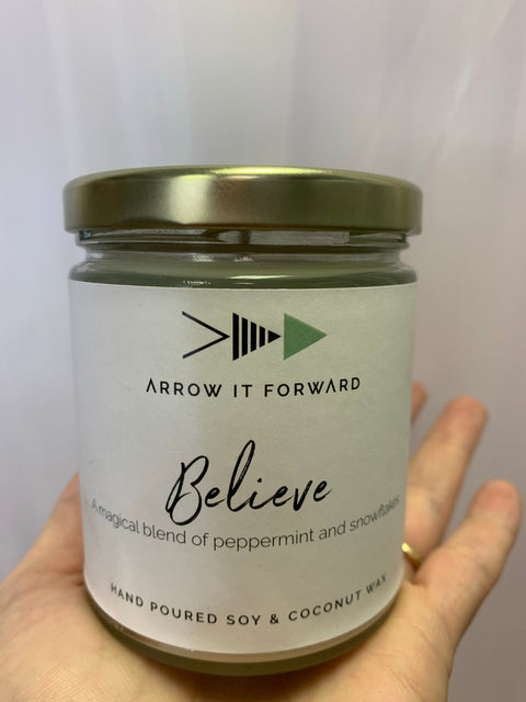 Arrow It Forward Candle - Wild Little Roses