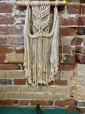 Hanging Macrame Decor, small. - Wild Little Roses