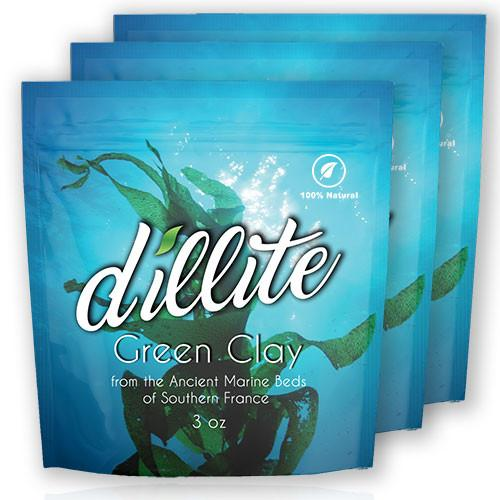 Dillite French Green Clay (3 Pack)