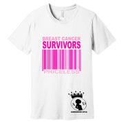 Breast Cancer Survivor Priceless Tee