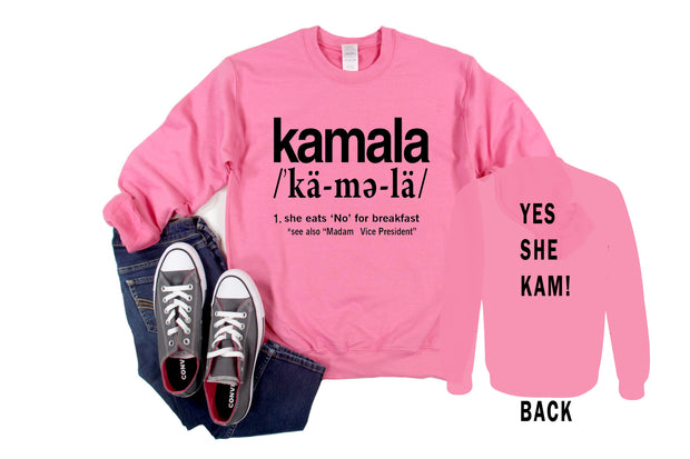 Kamala Harris Definition Sweatshirt