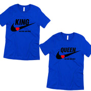 king and queen couple shirts