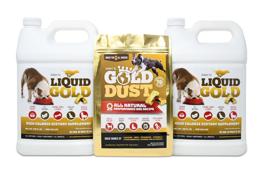 SBK's Liquid Gold & Gold Dust Bundle (Two Gallons + One 90 Serving)