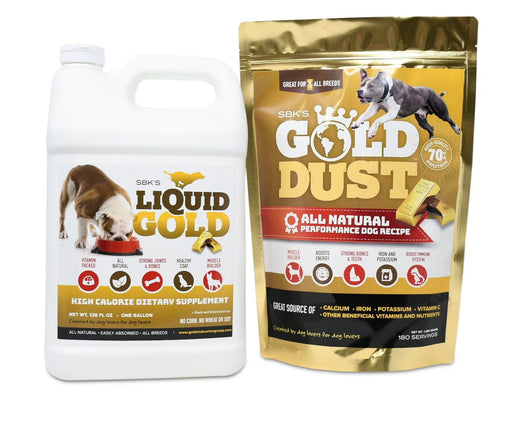 SBK's Liquid Gold & Gold Dust Bundle (One Gallon + One 180 Serving)