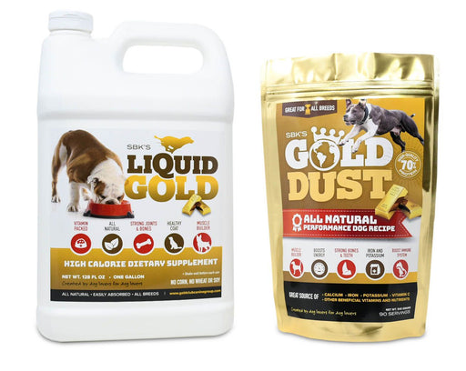SBK's Liquid Gold & Gold Dust Bundle (One Gallon + One 90 Serving)