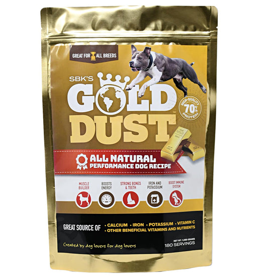 SBK's Gold Dust™ High Protein Muscle Enhancer (180 Servings)
