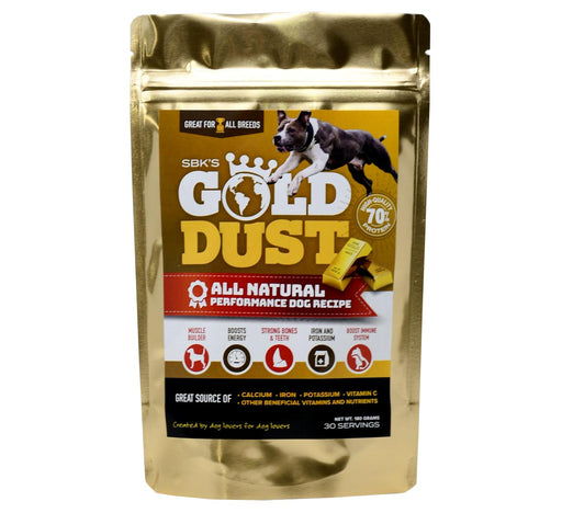 SBK's Gold Dust™ High Protein Muscle Enhancer (30 Servings)