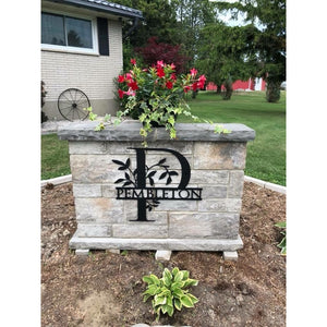 Personalized Outdoor Metal Sign