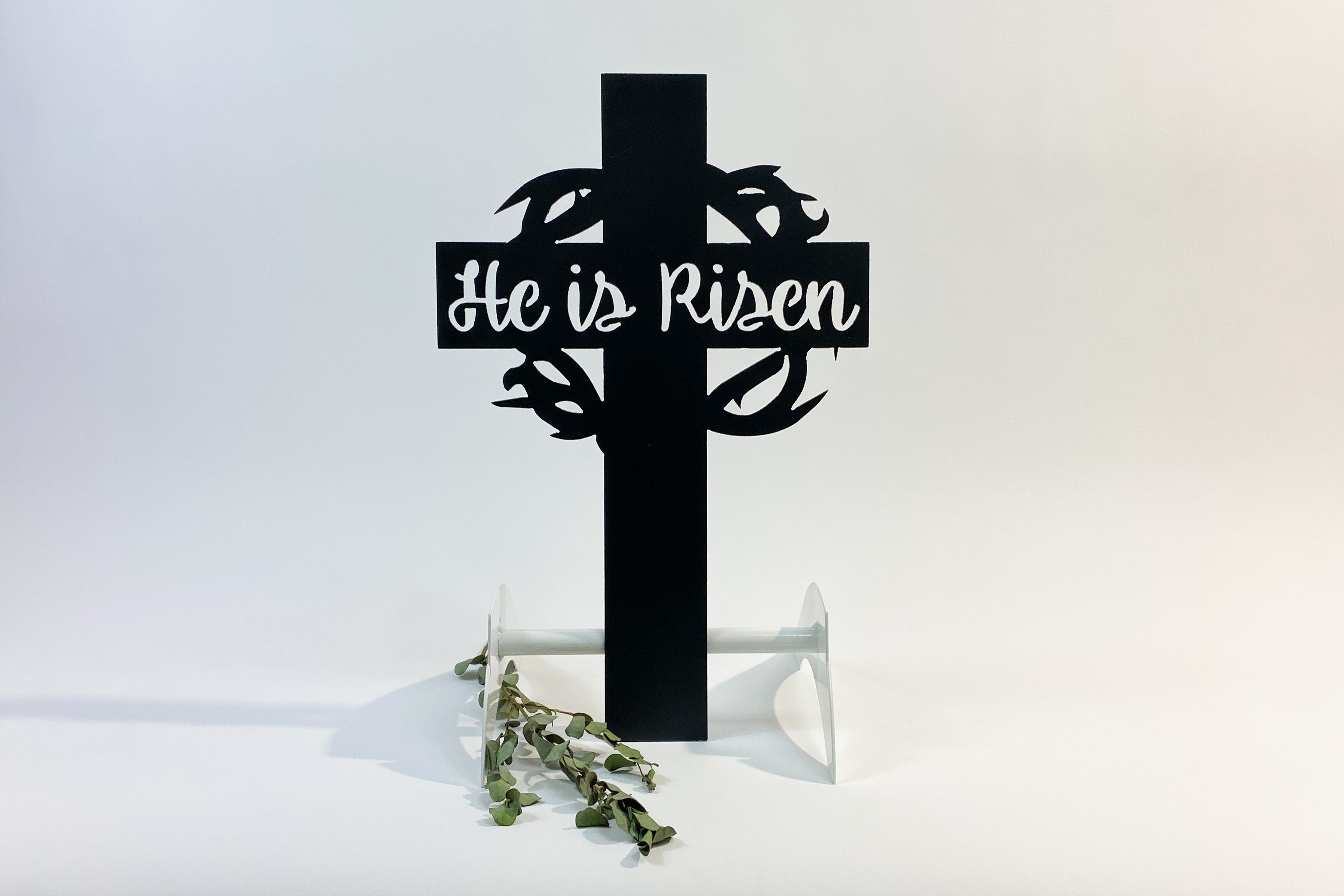 TESTHe is Risen Cross