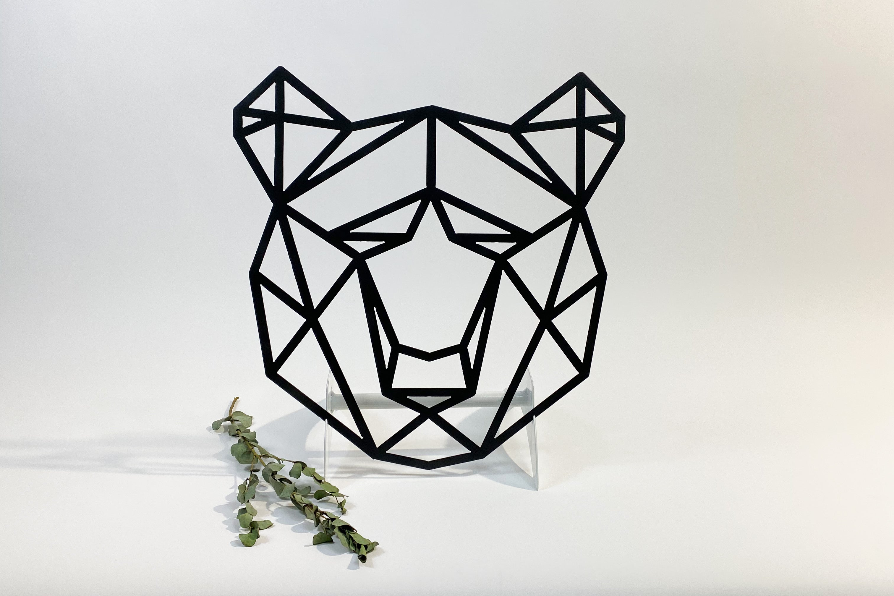 TESTGeometric Bear Head