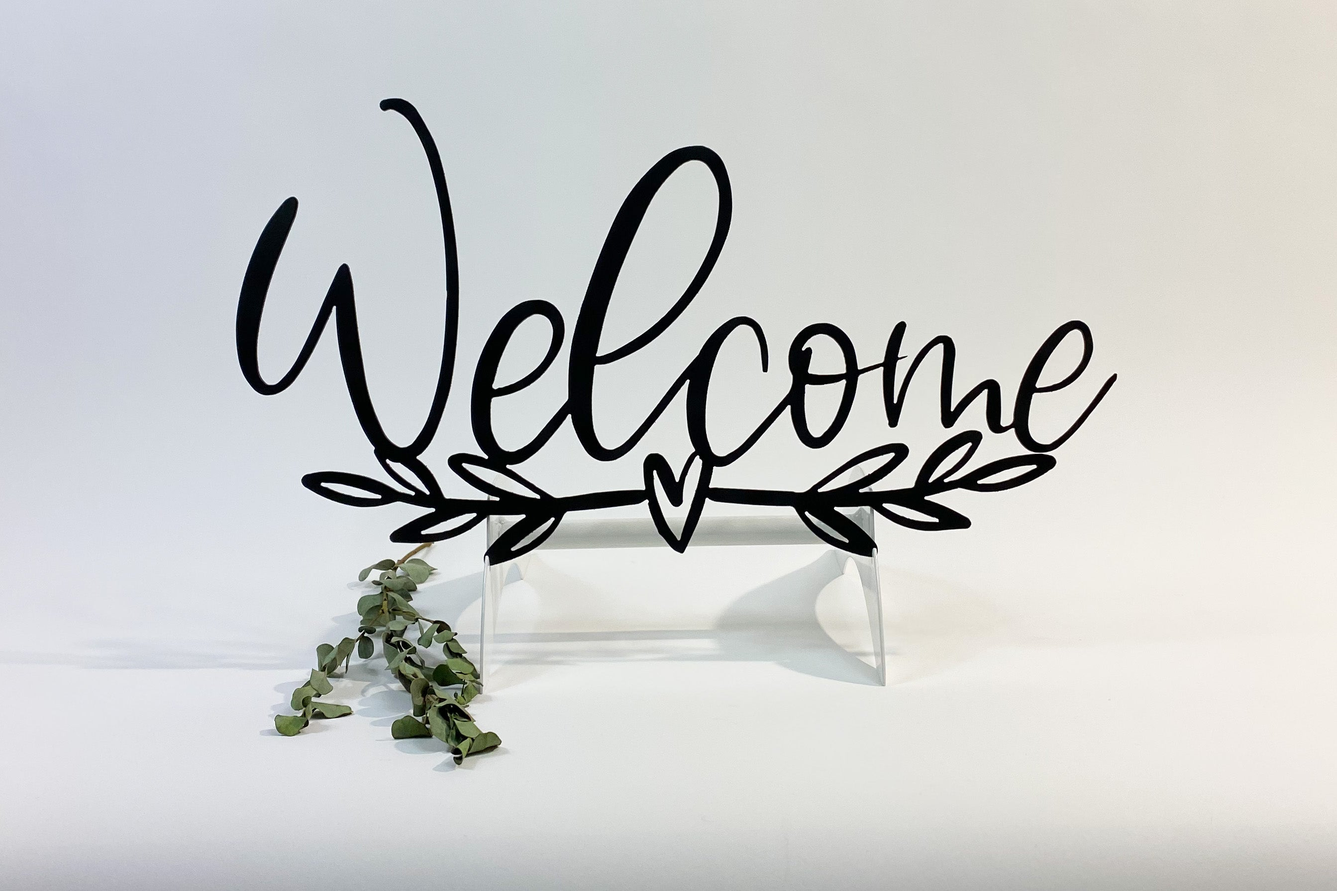 Welcome with Banner
