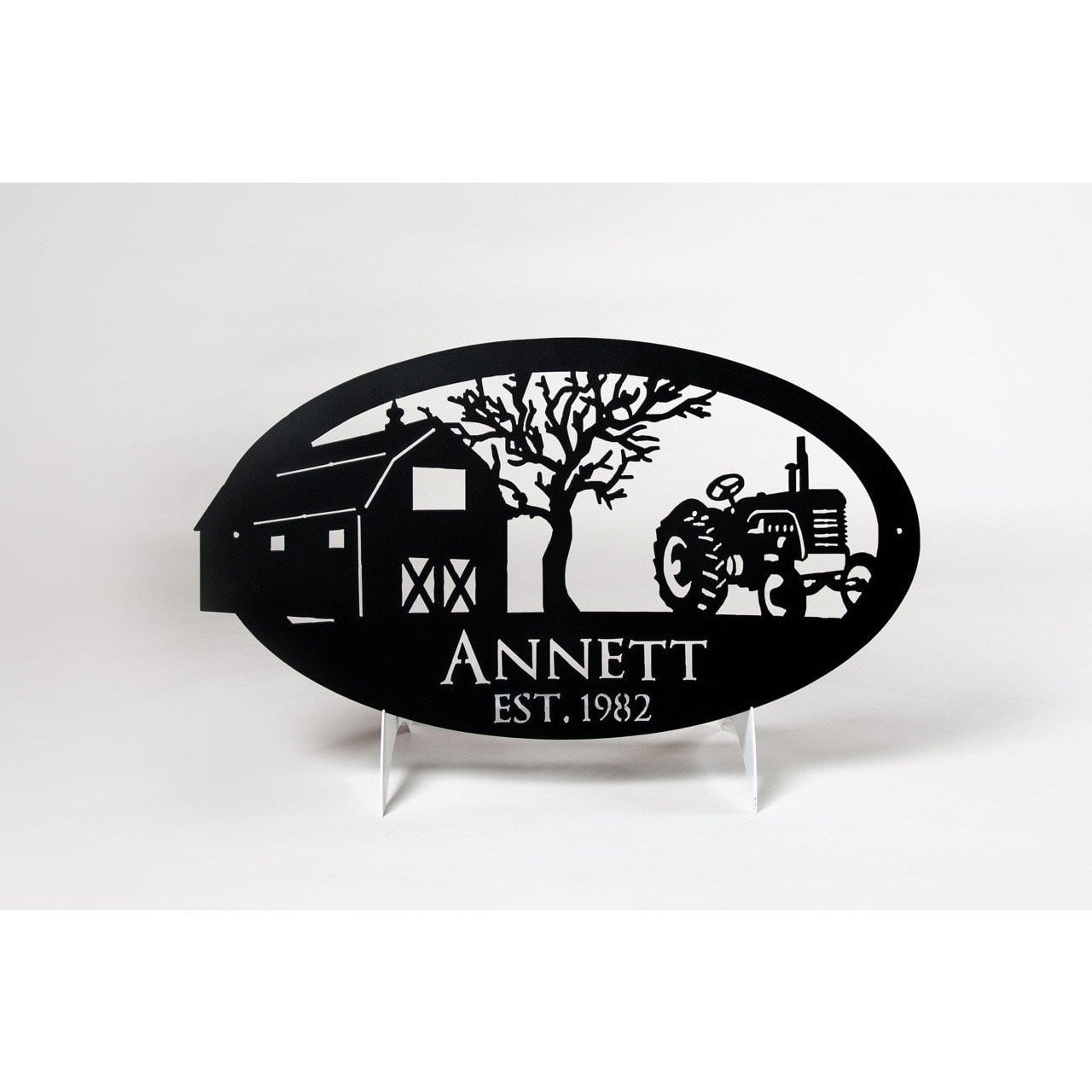 Personalized Metal Farm Sign