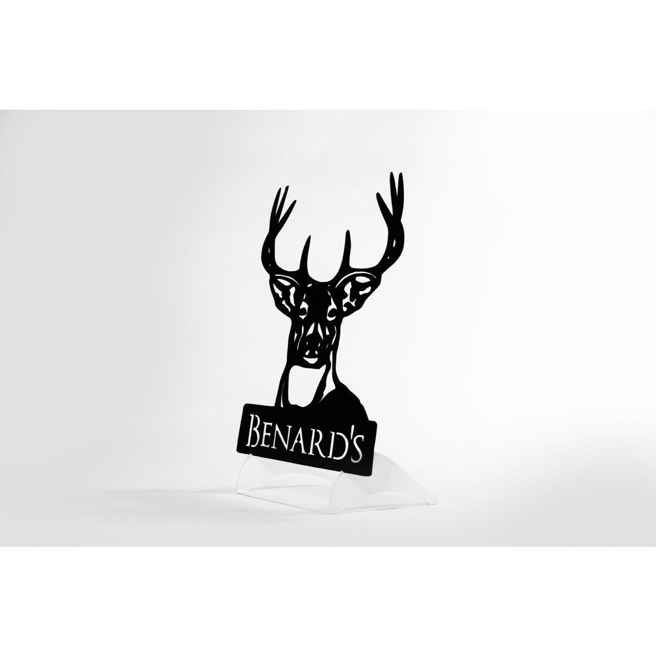 Personalized Steel Deer Sign