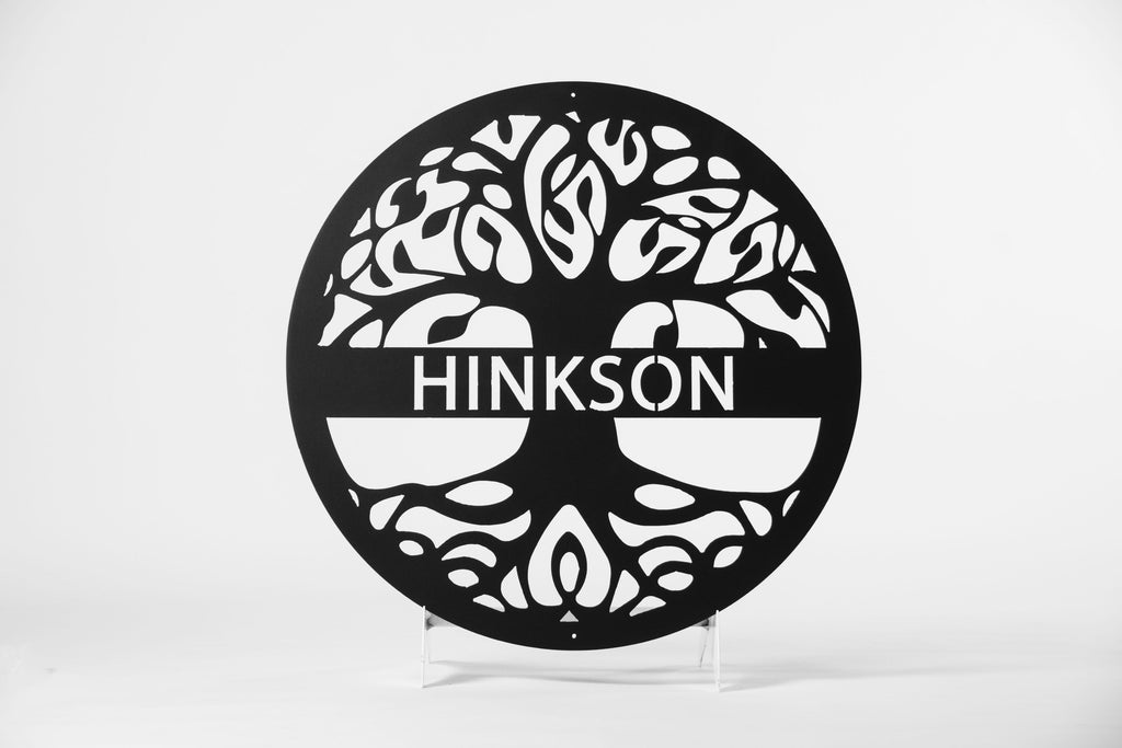 Deep Roots Custom Metal Sign