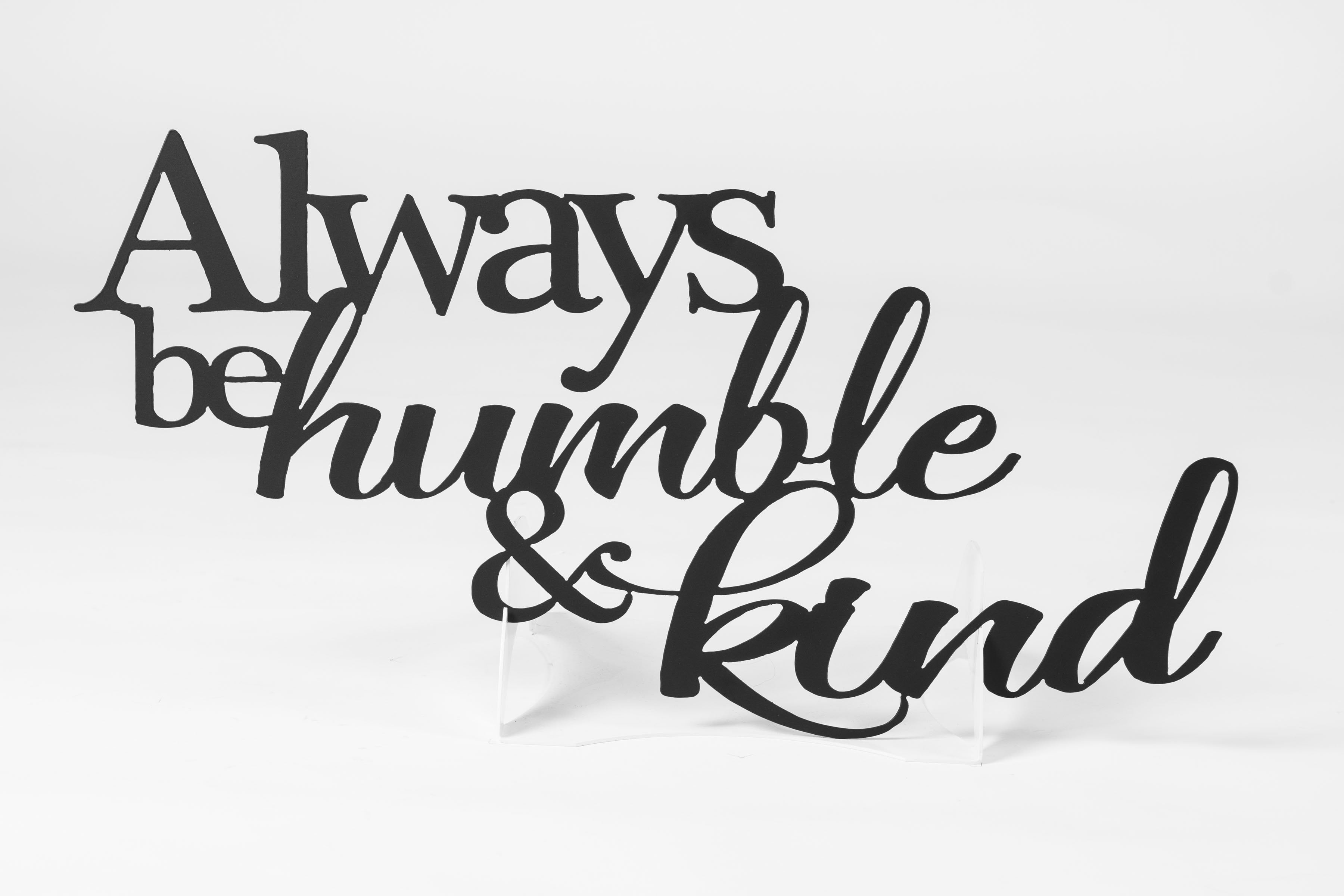 TESTHumble & Kind Sign