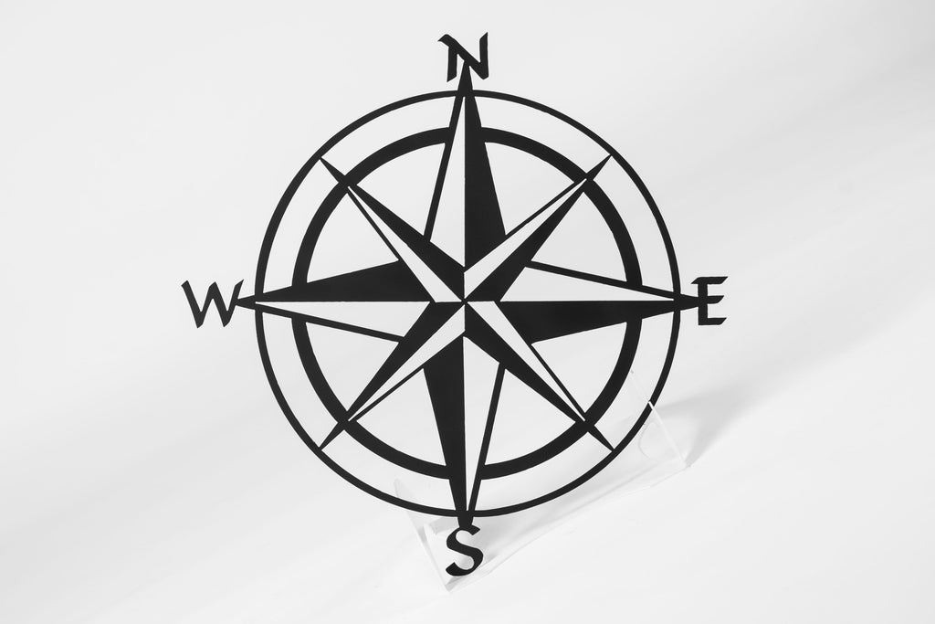 Nautical Compass Sign