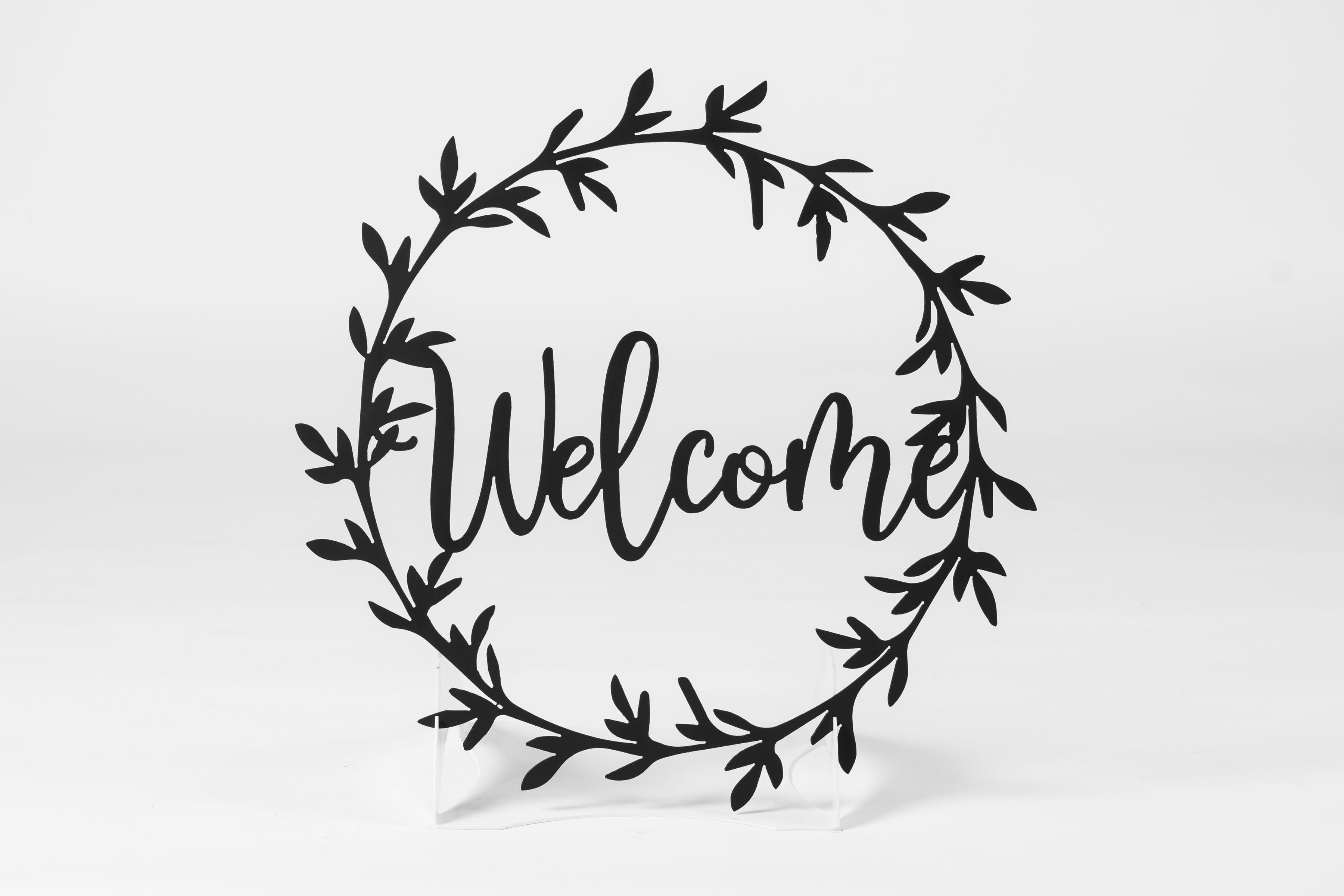 TESTWelcome Wreath Sign