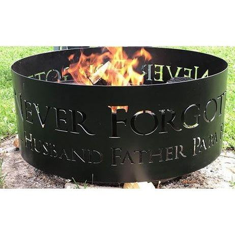Memorial Fire Pit