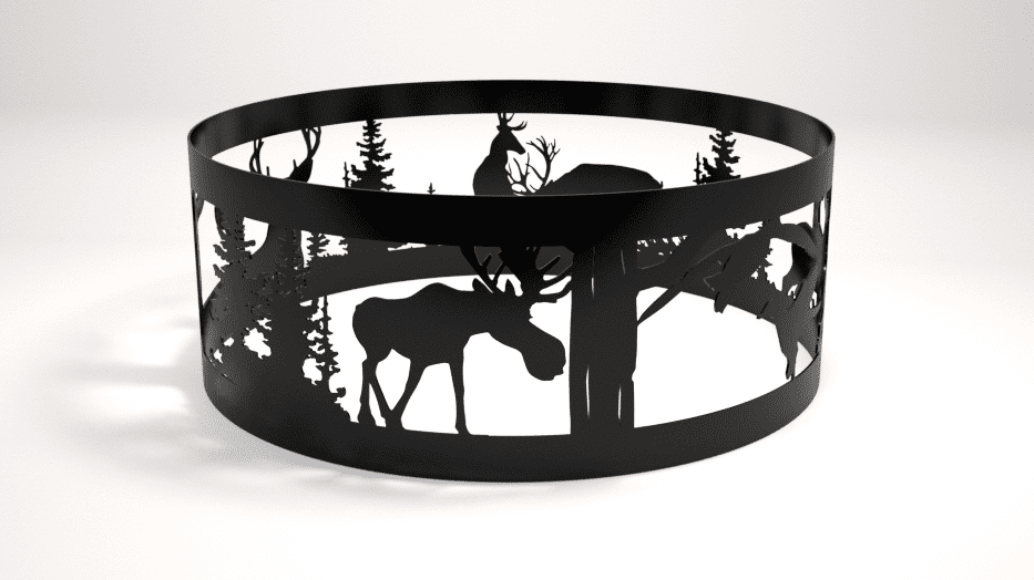 Wildlife Decorative Fire Pit