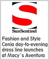Cenia day-to-evening dress line launches at Macy's Aventura